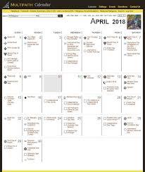 Multifaith Calendar