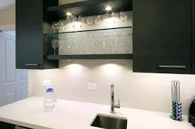 elegant led light bar under cabinet inspired led puck lights in kitchen modern with next to