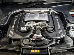 2017 Mercedes-AMG C63 S Coupe (UK-Spec) - Engine | HD Wallpaper #47