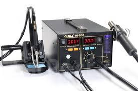 <b>Паяльная станция</b> с поглотителем паяльного дыма <b>Yihua</b>-<b>968DB+</b>