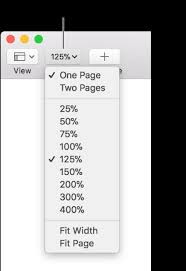 Pages for Mac: Change the document view