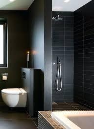 black tile shower matte black shower tileatte grey and black surfaces for a moody