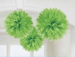 How To Make Fluffy Decoration Balls Pom Pom Tissue Decorations Fluffy Decorations Honeycomb Just 69