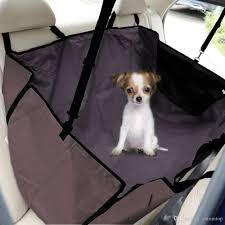 acheter résistant À l eau pet car back seat cover dog cat safety hammock mat protector blanket pour trunk suv pet carrier h16673 de 22 33 du cntomtop