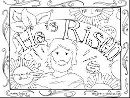 Download Religious Easter Coloring Pages To Print Getwallpapersus