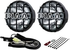 Piaa 520 Fog Lights Piaa 5296 520 Clear Atp Black Lamp Kit