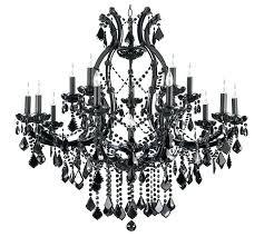 black chandelier crystals s acrylic