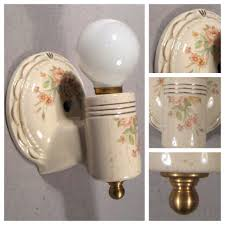 porcelain lighting. #A8417 Single Porcelain Wall Sconce Lighting