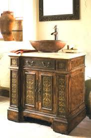 bowl sink vanity. Vanity Bowl Sink Bathroom With Vessel .