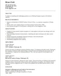 Resume Objective For Graphic Designer Creative Arts and Graphic Design Resume Examples 76