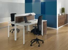 office desk for 2.  Desk Wooden Desk For Two With A Partition Intended Office For 2 O