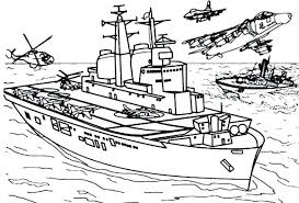 Navy Coloring Book Also Navy Coloring Pages Aircraft Carrier