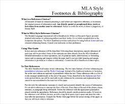 Mla Style Refrence 9 Mla Bibliography Templates Free Pdf Doc Format