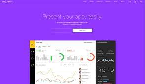 Simple Website Template Beauteous 48 Best Software Company Website Templates 48 Colorlib
