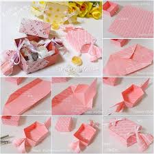 diy candy shaped paper candy gift box origami gift box tutorial with picture