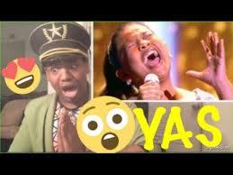 elha nympha sings sia s chandelier little big shots reaction