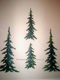 new 4 pc green pine tree forest timber woodland metal wall art set cabin lodge unbranded lodge on pine tree forest metal wall art with new 4 pc evergreen pine tree forest timber woodland wall art set