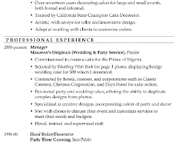 breakupus seductive resume examples top design resume examples breakupus fascinating resume sample master cake decorator astounding example of a good resume besides s
