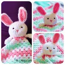 Free Crochet Lovey Pattern Custom Wonderful DIY Crochet Bunny Lovey Blanket With Free Pattern