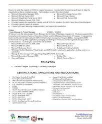 Beautiful Itil Certified Resume Pictures - Simple resume Office .