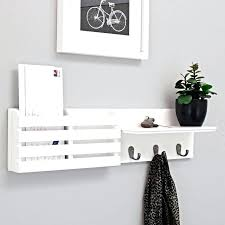 wall letter holder wall mounted mail organizer letter holder key sorter rack hanger wall mount mail