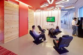 office game room. perfect room office u0026 workspace modern interior entertainment gaming room with  arcade game machine and playstation for f