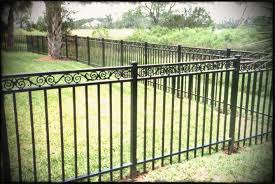 metal fence styles. Decorative Metal Fence Styles Garden Fencing Ideas Perfect Corrugated Rolitz