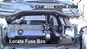 replace a fuse 2008 2015 mini cooper 2009 mini cooper clubman 2007 mini cooper fuse box diagram at 2013 Mini Cooper Fuse Box