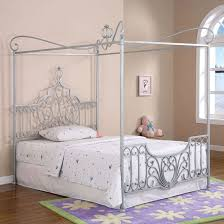 Full-Size-Canopy-Bed | home decoration ideas | Princess canopy bed ...