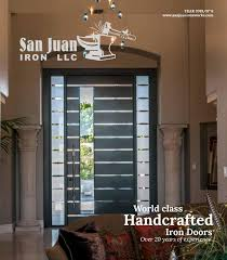Full Glass Doors Design Catalogue San Juan Iron Llc 6th Edition Catalogue By Ericka Zavala