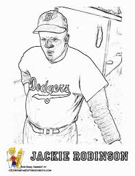 Small Picture Jackie Robinson Coloring Page Regarding Motivate To Color An In