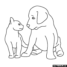 Small Picture Kitten Coloring Pages AdditionColoringPrintable Coloring Pages