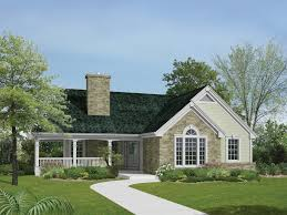 image of original ranch style home with wrap around porch