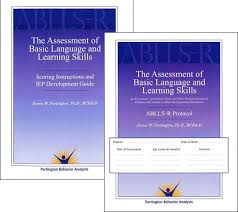 Assessment Beauteous ABLLSR Assessment Of Basic Language And Learning Skills Revised