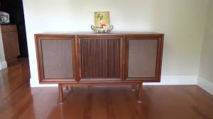 Cabinet Record Player 1964 Motorola Record Player Console Youtube