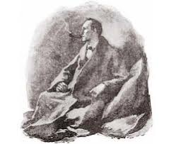 sherlock holmes an essay about clutter and grief illustration of sherlock holmes in quot the man the twisted lip quot