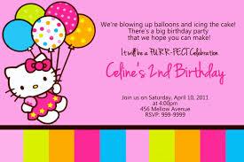 Hello Kitty Birthday Invitation Card Awesome 33 Free Diy Printable