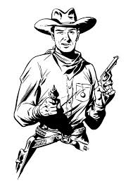 Coloring Page Cowboy Img 29898 Images