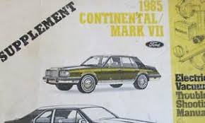 1985 lincoln continental mark vii electrical wiring diagram evtm image is loading 1985 lincoln continental mark vii electrical wiring diagram