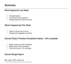 Example Of A Project Timeline Project Management Reporting Types Tips Teamgantt