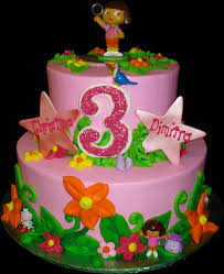 dora birthday cakes for girls. year old birthday girl who is.
