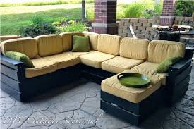diy outdoor sectional cushions