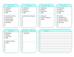 free printable charts and checklists. Weekly Chore Checklist Free Printable Charts And Checklists I