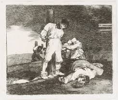 francisco de goya and the spanish enlightenment plate 15 from the disasters of war los desastres de la guerra and