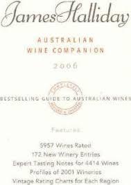 James Hallidays Australian Wine Companion 2006 James