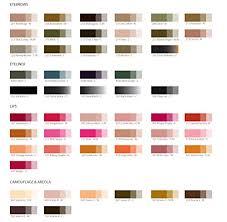 Amazon Com Choose 4 Permanent Makeup Pigment Sets Ink Color