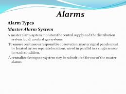 medical gas pipeline system 1 ppt 26 alarms