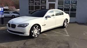 BMW 3 Series white 750 bmw : BMW 750li 22