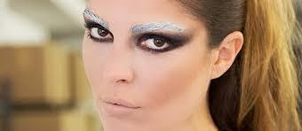 dark angel makeup closeup dramatic