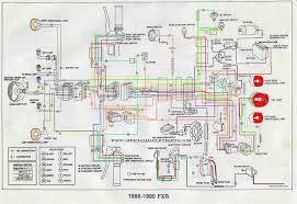 harley fxr wiring diagram wiring diagrams